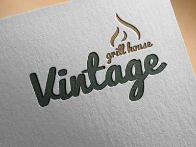Logo Vintage Grill House